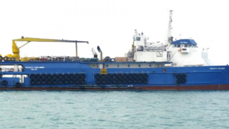 Green Shipping: Corrosion passivation MV Trinity Explorer Singapore