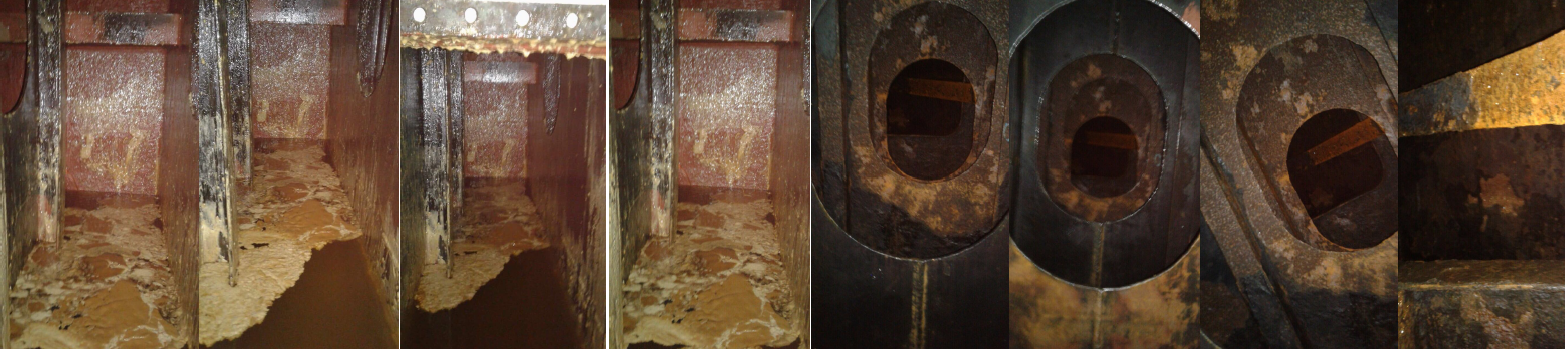 corrosion passivation ballastwater tanks after 1 day