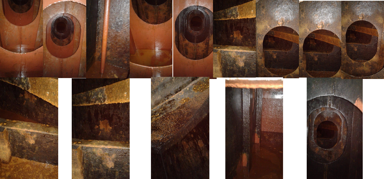 corrosion passivation ballastwater tanks after 14 days