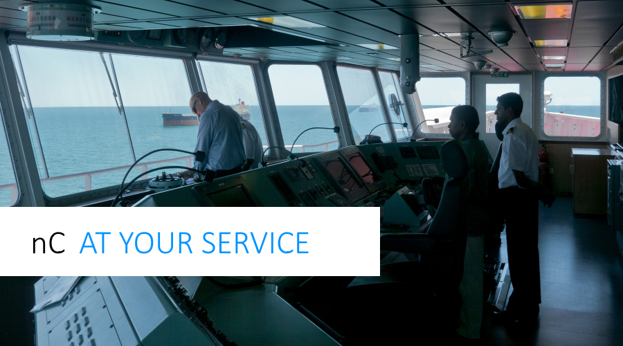 Especially the maritime industry benefits from green shipping. Contact nC Marine.