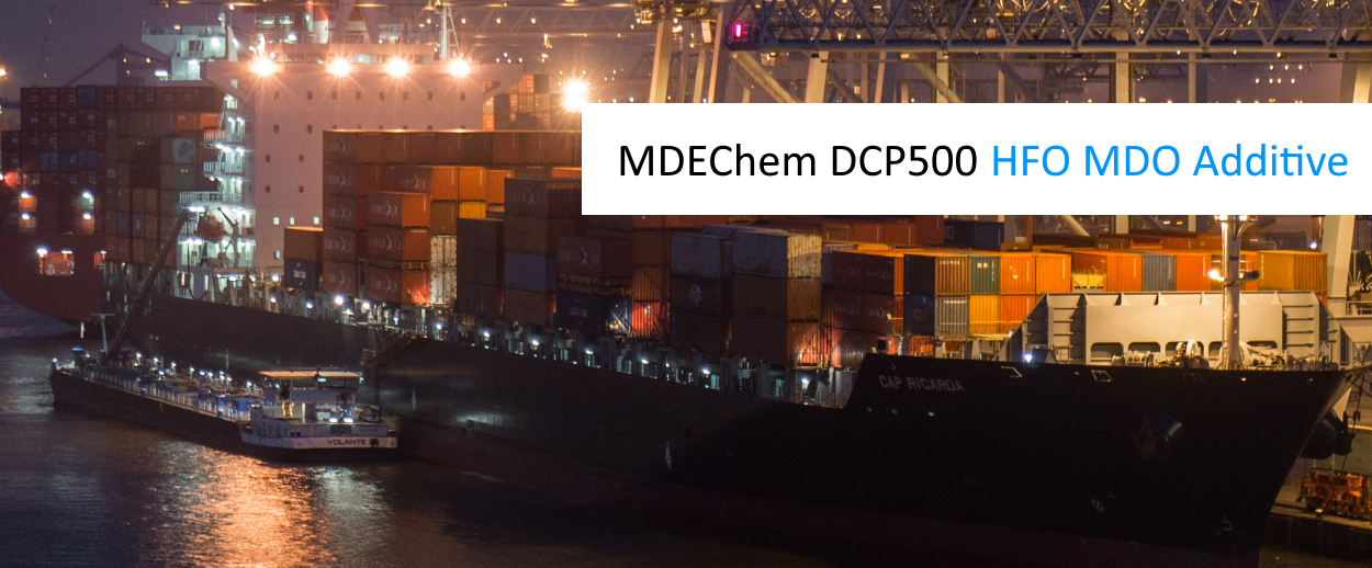 MDEChem DCP500 Heavy Fuel Oil additive diesel