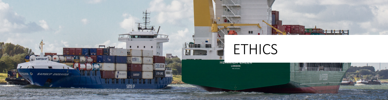 Green Shipping. nC Marine Ethics.